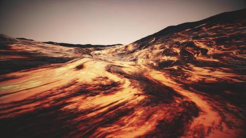 4K Extreme Lava Flow Cinematic 3D Animation Animation