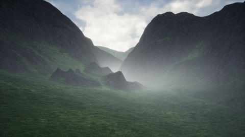 4K Mysterious Valley Cinematic 3D Animation Animation