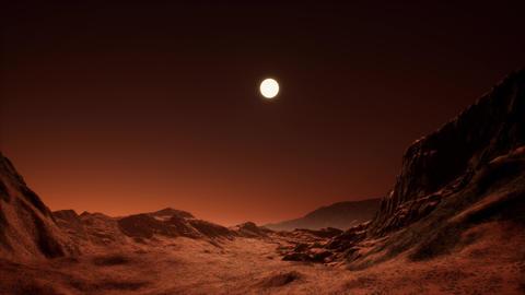 4K Rocky Alien Planet Cinematic 3D Animation Animation
