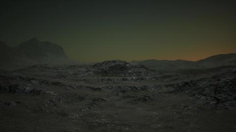 4K Surrealistic Extraterrestrial Terrain Cinematic 3D Animation Animation