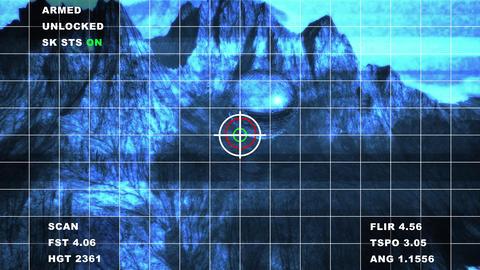 4K Military Surveillance of Alien Sphere Bad Signal Aerial Cinematic 3D Anima Animation