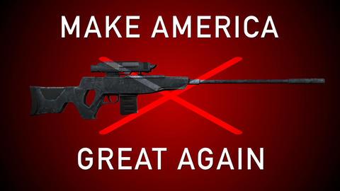 USA Gun Prohibition Ban Guns Animation Animation