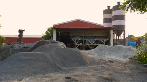 A small scale cement brick industry Live Action