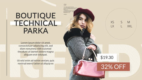 Fashion Store After Effects Template