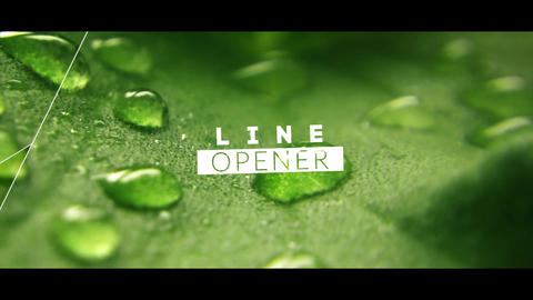 Elegant Line Opener After Effects Template