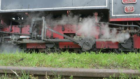 Motion Transmission Frame Steam Train Footage