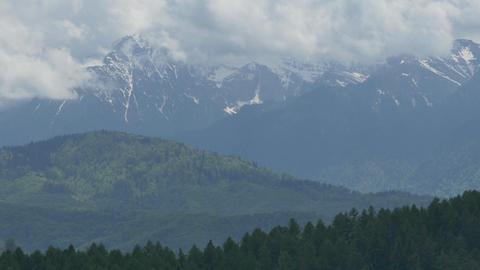 Mountains at the Horizon Footage