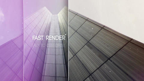 Parallax Slide After Effects Template