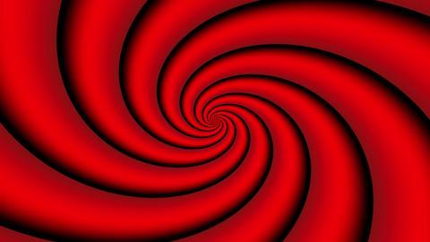 Fractalizer Vol Vi 358 Vortex Rojos 25Fps Apple Prores Vj... Stock Video Footage