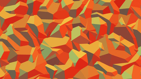 Fritzpatrick - Camouflage Geometric Pattern Video Background Loop CG動画素材