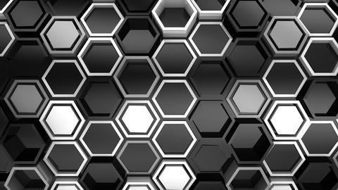Background of Hexagons GIF