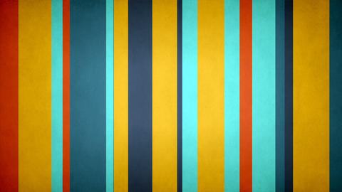 Paperlike Multicolor Stripes 30 - Textured Fresh Colors Bars Video Background Animation