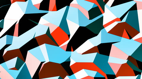 Walter - 4k Stylish Geometric Video Background Loop Animation