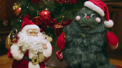 Santa Claus and Christmas Tree Live Action