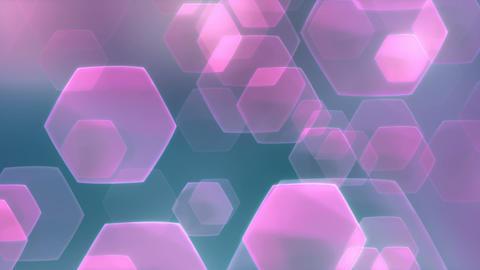 Flarez Purple Turquoise - Stylized Lens Flares Video Background Loop Animation