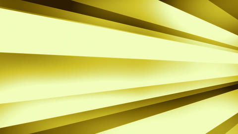 DynStripes Gold - Warm Minimalistic 3D Shapes Video Background Loop Animation