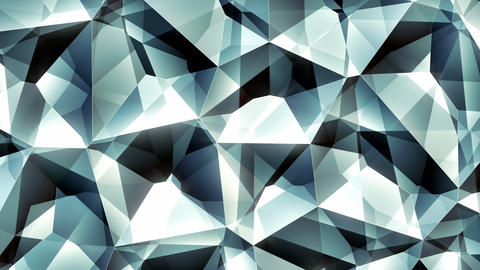 Diamondi - 4k Faceted Glamorous Jewelry Video Background Loop Animation