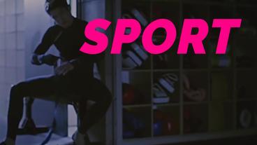 Extreme Sport-Action Sport Plantilla de After Effects