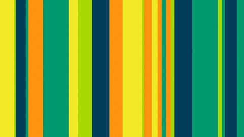 Multicolor Stripes 48 - Fresh Colors Verticals Video Background Loop Animation