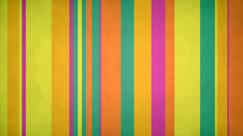 Paperlike Multicolor Stripes 46 - Textured Spring Colors Bars Video Background Animation