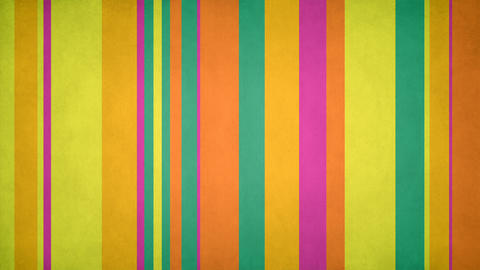 Paperlike Multicolor Stripes 46 - 4k Textured Spring Colors Bars Video Animation