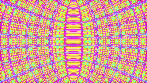 Fast Color Cycle Wave Pattern Psychedelic Abstract Motion Background Loop Animation