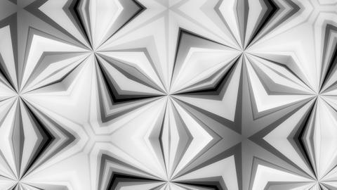 Kaleidoscope Black And White 3 - 4k Grinding Kaleidoscopic Video Background Loop Animation