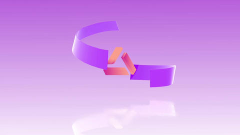 Ribbon Logo After Effects Template