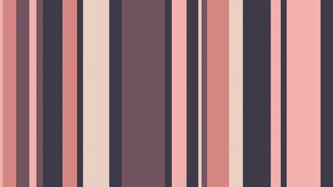 Multicolor Stripes 20 - 4k Muted Pink Colors Video Background Loop CG動画