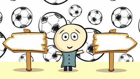 Choice and soccerballs Animation