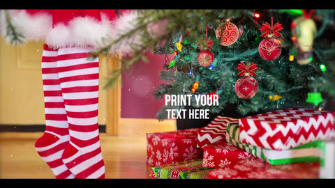 Xmas New Year Slideshow After Effects Template