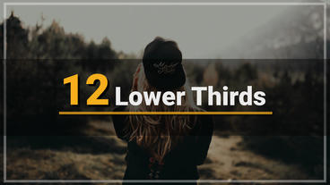 Lower Third After Effects Template