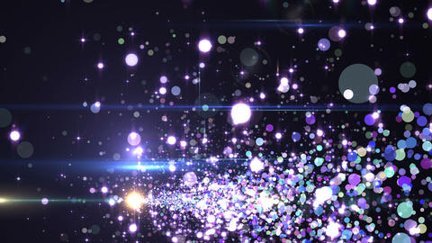 Lens Flares and Particles 16 U2 4K CG動画