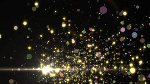 Lens Flares and Particles 16 S2 4K CG動画