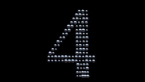 Countdown - metal balls Animation