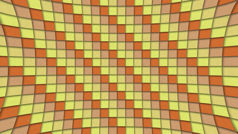 Abstract Shapes Colorful Squares Pattern Seamless Looping Animated Texture Animation