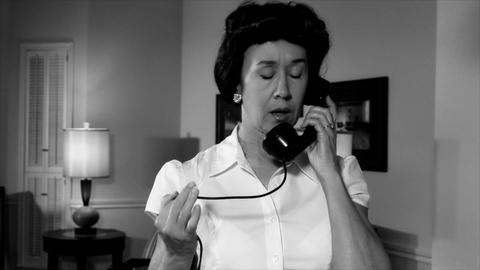 film noir woman on phone Live Action