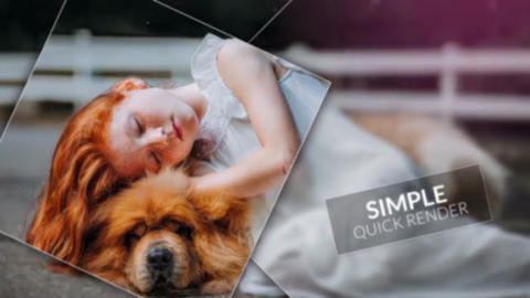 Square Smooth - Slideshow After Effects Template