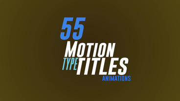55 Stylish Titles After Effect Plantilla de After Effects