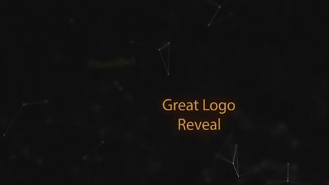 Plexus Logo Reveal After Effects Template