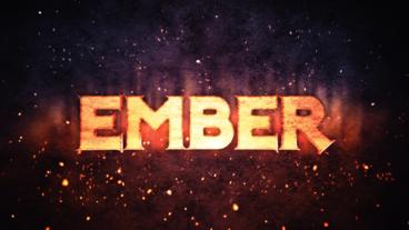 Ember Logo Reveal After Effects Template