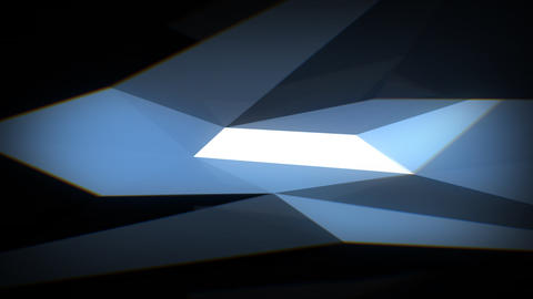 Dark-blue-facets-background Animation