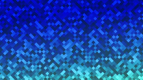 Mosaic rombs blue Animation