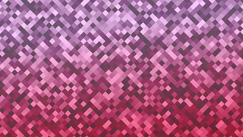 Mosaic rombs pink Animation