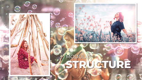 Miracle Photos Slideshow After Effects Template