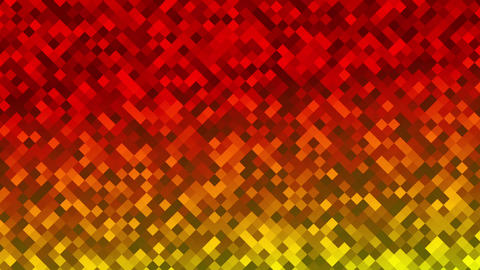 Mosaic rombs red Animation
