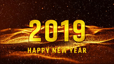 New Year 2019 animation 00170 Animation