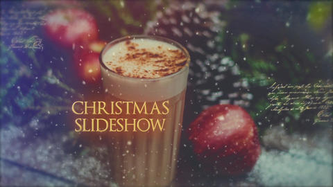Christmas Memories Slideshow After Effects Template