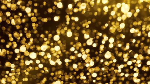 Gold balls up 4k Animation