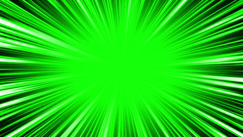 radial intensiveLine green Animation
